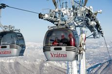 Kolejka linowa dla narciarzy