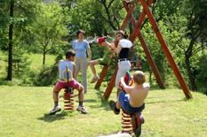 Plac zabaw, wczasy z dziećmi