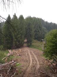 Cyklotrasa Mravečník, Vojenné