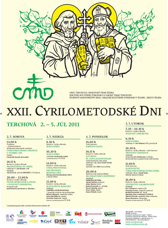 Cyrilometodské dni 2011