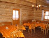 Chata Ilčík, Terchová, jedáleň, spoločenská miestnosť