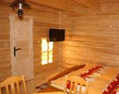 Chata Ilčík, Terchová, izba, TV-SAT plazma