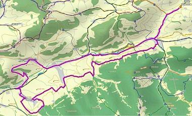 Cyklotarsa Bela - Lysica - Dolna Tizina