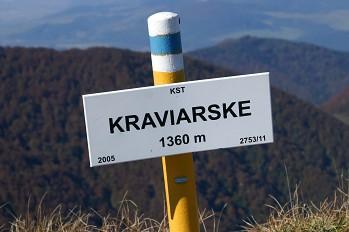 Túra Kraviarske - Žitné Baraniarky