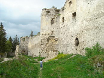 Zrúcanina Lietavský hrad 4