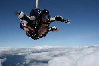 Parachute - Tandemové zoskoky