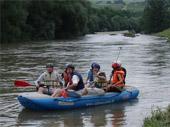 Splavovanie rieky Oravy a Váhu