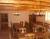 Chata Rajnoha, Terchová, herňa s krbom, vinotéka
