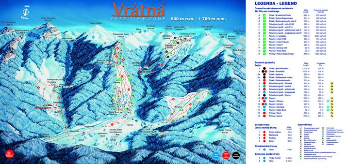 Vrátna - lyžiarske stredisko