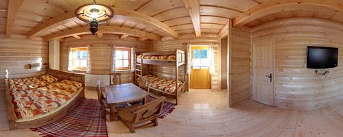 Zimmer in der Hütte Rajnoha