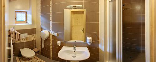 Bathroom in chalet Rajnoha