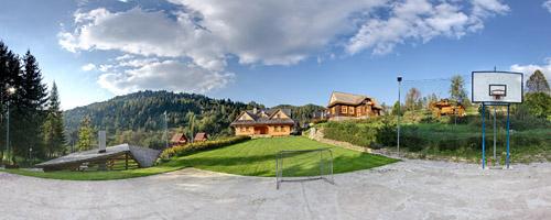 Multifunkční hřiště při chatě Uhorčík