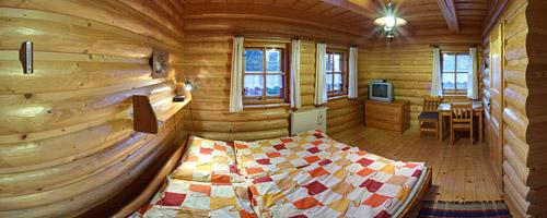 Zimmer in der Hütte Uhorcik