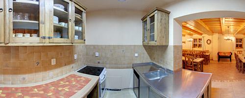 Spoločenská miestnosť - kuchynka